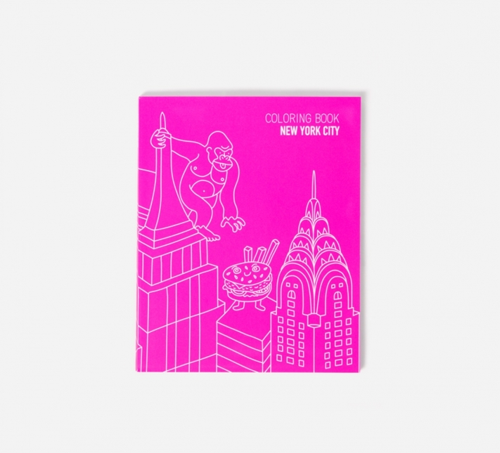 Coloring Book Of New York