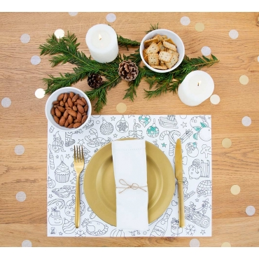 Christmas - Paper placemats