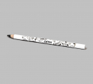 GRAPHITE PENCIL WHITE