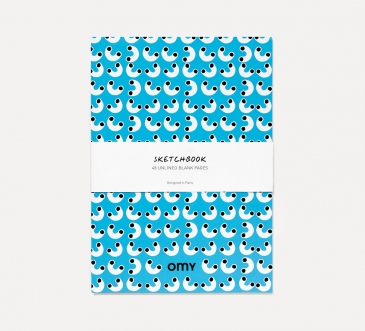 SKETCHBOOKS GRAPHIC BLUE