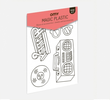 Music plastic magic
