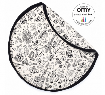 PLAY & GO x OMY  PARIS TOY STORAGE BAG