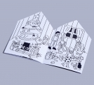 COLORING BOOK -  SANTA'S WORKSHOP