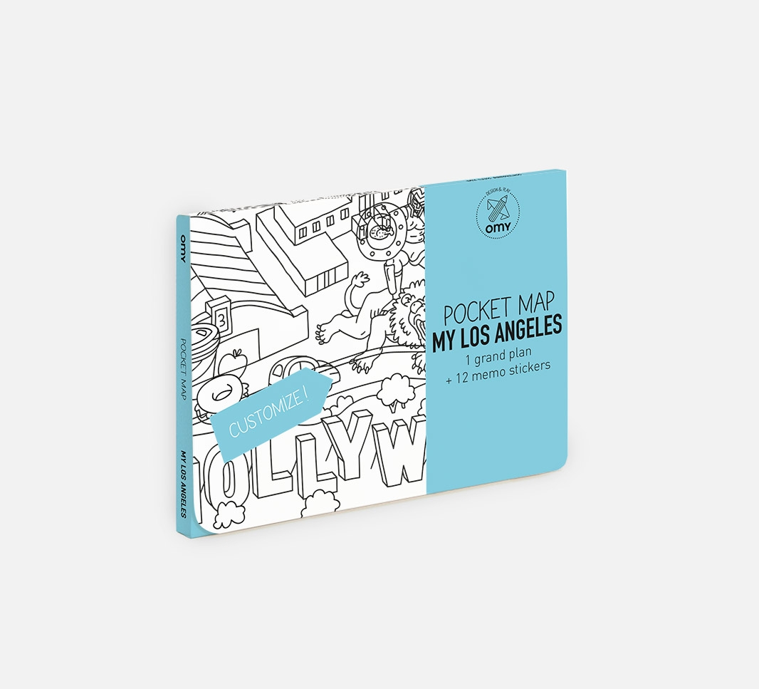 My Los Angeles - Pocket map