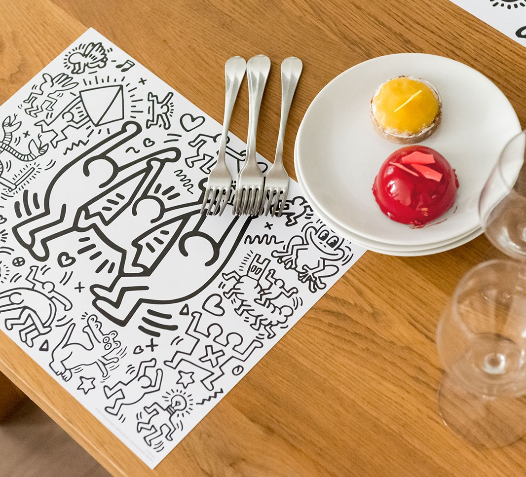 Keith Haring - Sets de table