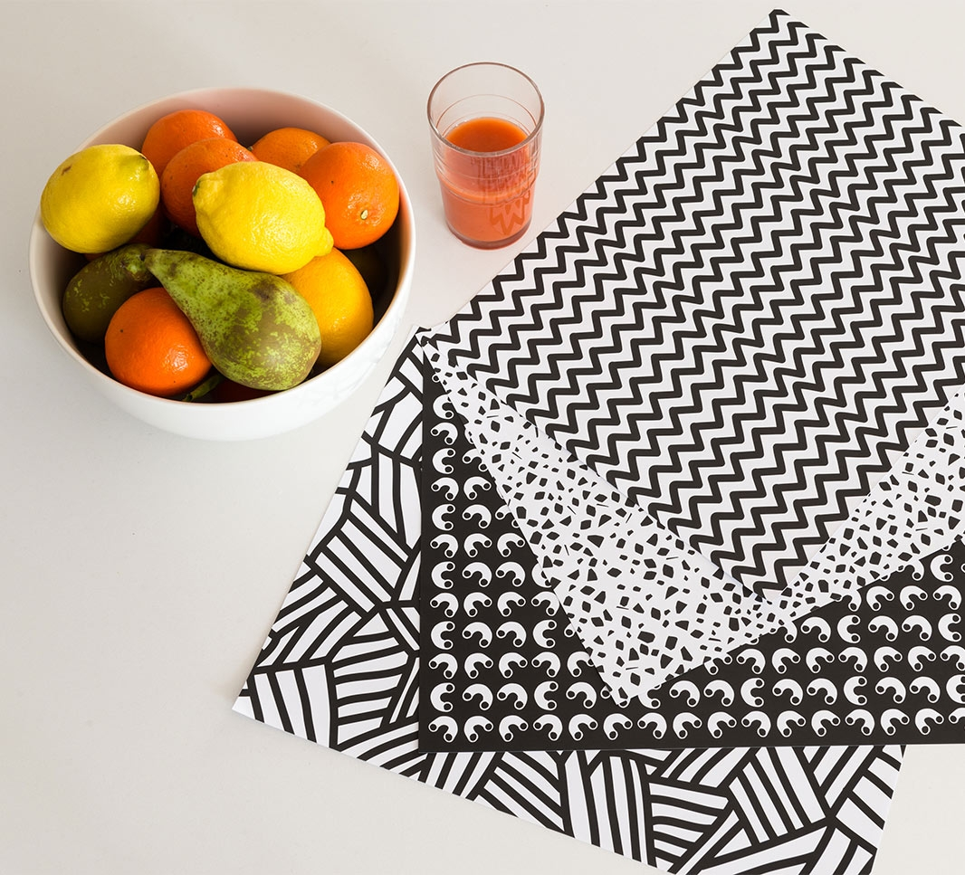 Graphic.01 - Sets de table