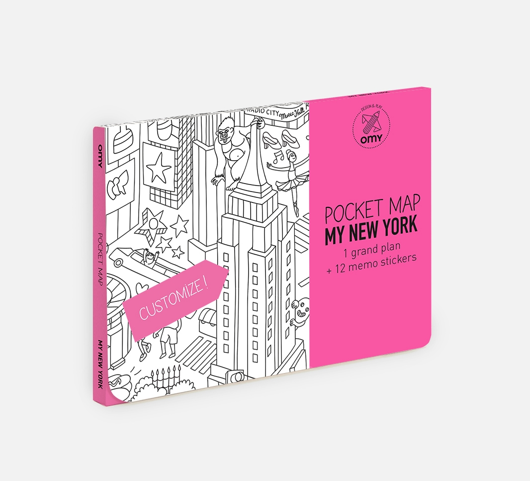 My New York - Pocket map