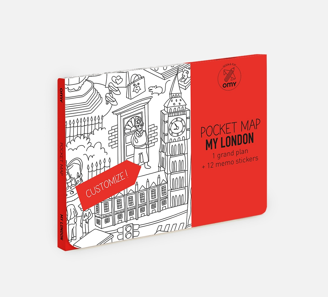 My London - Pocket map