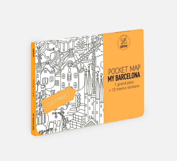 OMY - Pocket maps - Barcelone