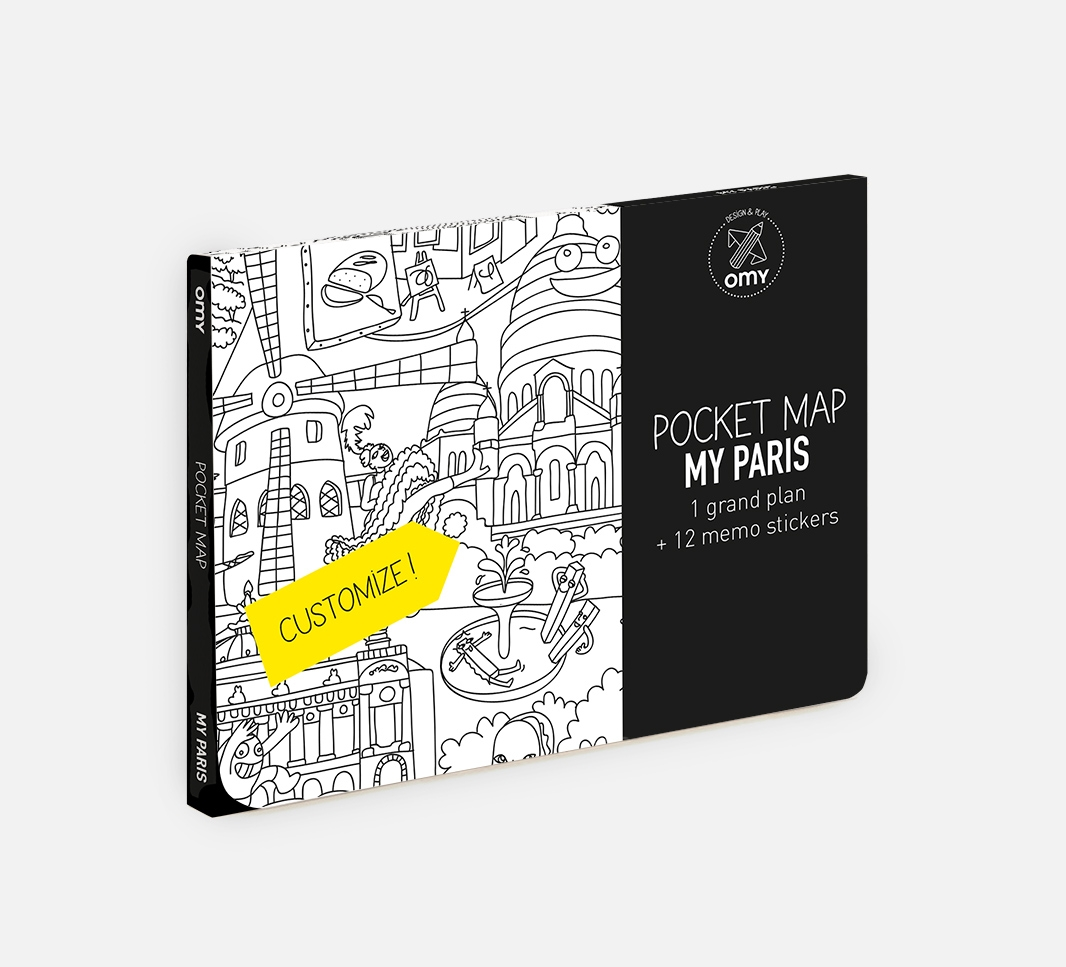 My Paris - Pocket map