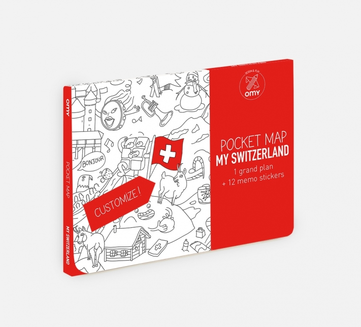 OMY - Pocket maps - Switzerland