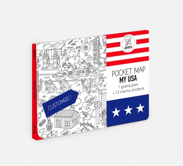 OMY - Pocket map - USA
