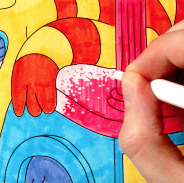 Color with OMY Magic Markers! - Omy