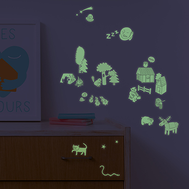 OMY-Stickers Phospho Nature