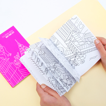 NEW YORK - coloring book