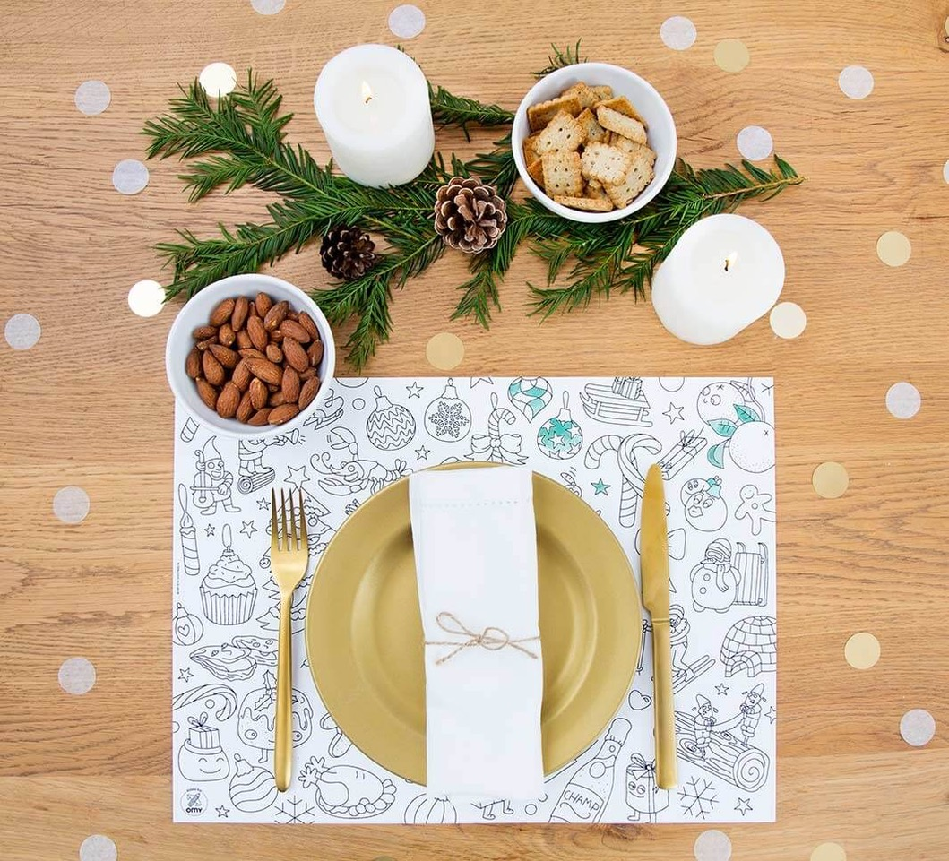 Christmas - OMY - Sets de table