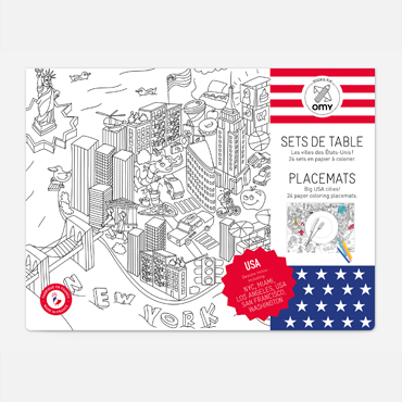 OMY - USA - Placemats