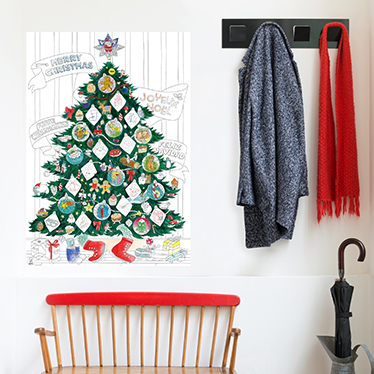 Christmas - OMY - Poster coloriage