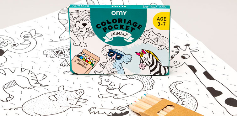 Coloriage pocket animals