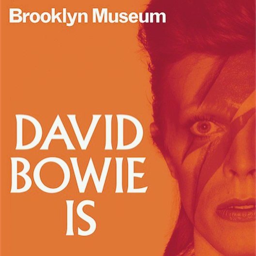 If you are in NYC don't forget to go see the David Bowie Is exhibit at the @brooklynmuseum until July 15th, with a selection of our bracelets!